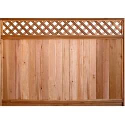 Small Of Lattice Fence Panels