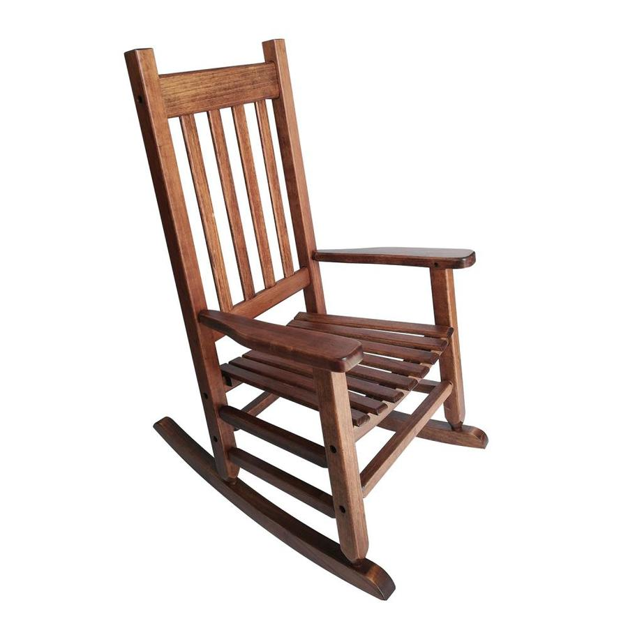 Best Place To Buy Rocking Chairs Garden Treasures Rocking Chair With Slat Seat At Lowes