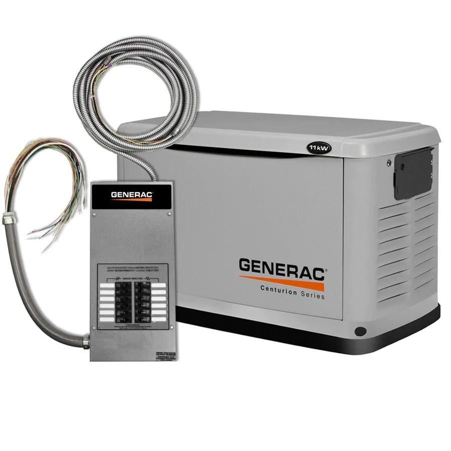 10kw Standby Generator Wiring Diagram Shop Generac Centurion 11000 Watt Lp 10000 Watt Ng