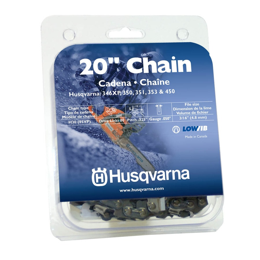 Husqvarna 450 Ii Husqvarna 20 In Replacement Saw Chain At Lowes