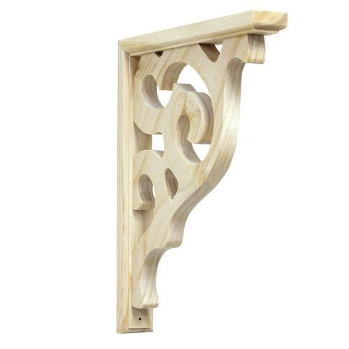 Medium Crop Of Wooden Shelf Brackets