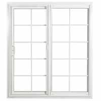 Shop ReliaBilt Grilles Between The Glass White Vinyl ...