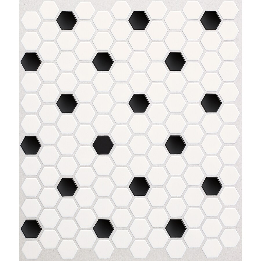 Fullsize Of Black And White Tile