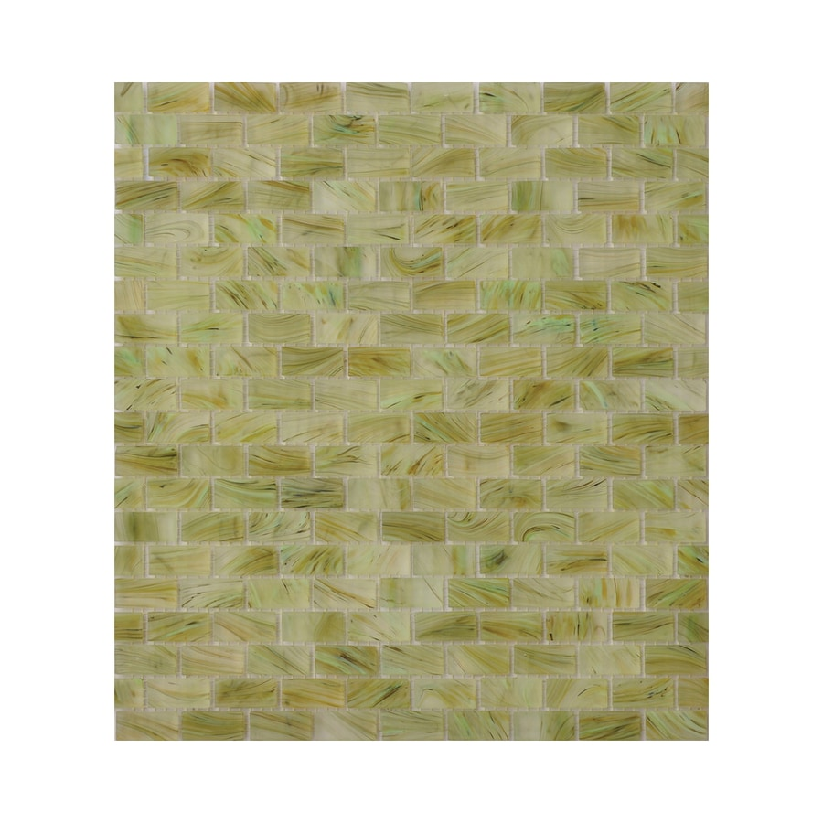 Shop American Olean Visionaire Meadow Breeze Brick Mosaic