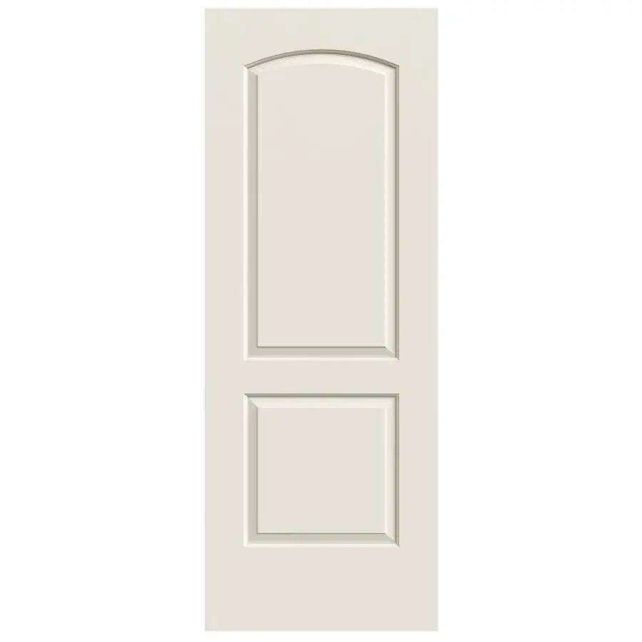 Reliabilt 2 panel round top slab interior door common 30 in x