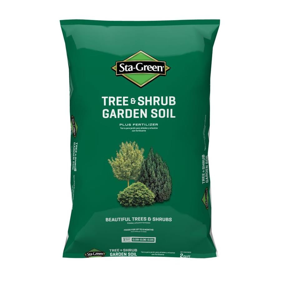 Trees And Shrubs Sta Green 2 Cu Ft Garden Soil At Lowes