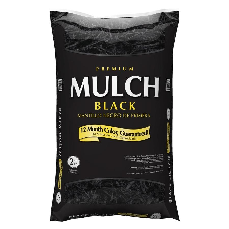 Black Bark Mulch Bagged Mulch At Lowes
