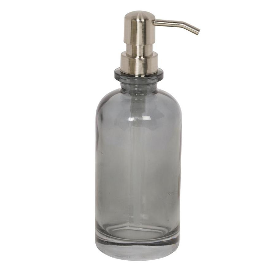 Unique Hand Soap Dispenser Giagni Smoke Glass Smoke Glass Soap Dispenser At Lowes