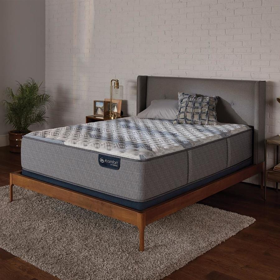 Icomfort Hybrid Reviews Serta Icomfort Hybrid Blue Fusion 100 Full 12 25 In Firm Mattress