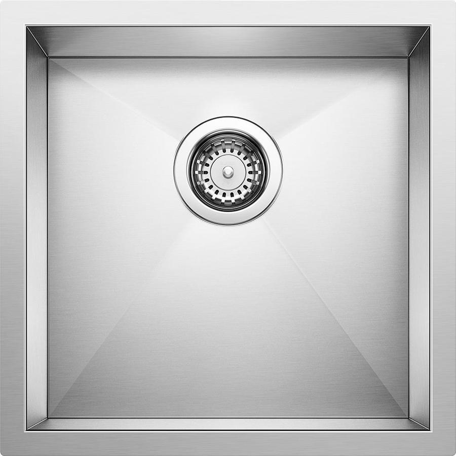 Shop Blanco Precision Stainless Steel Undermount