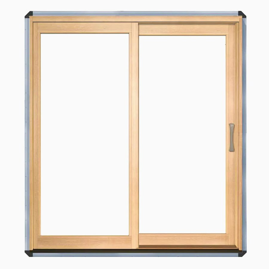 Shop Pella 7125 In X 795 In Clear Glass Left Hand White