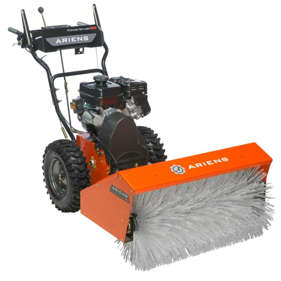 Ariens Power Brush 28 28 In Two Stage Gas Snow Blower Self Propelled At Lowes Com - Ariens Snow Thrower