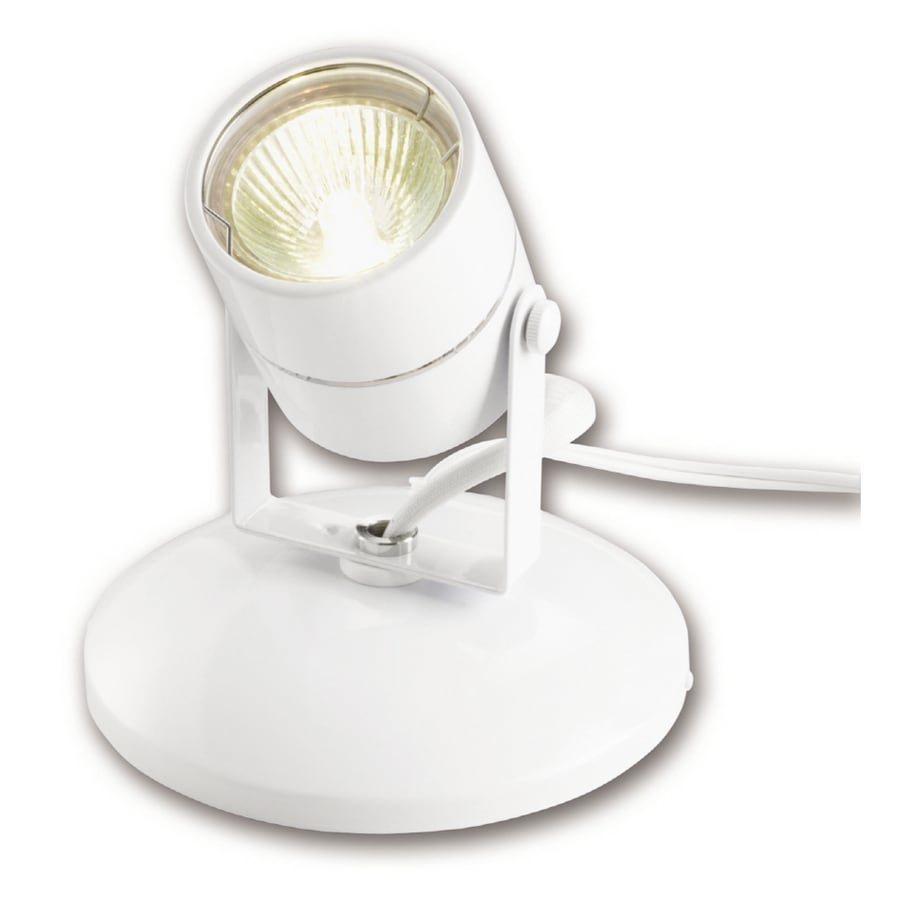 Mini Spot Portfolio 20 Watt Mini Spot Light White At Lowes