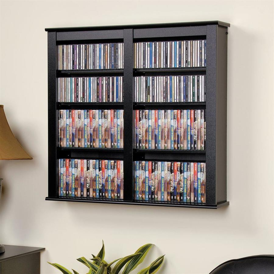 In Wall Media Cabinet Prepac Black Composite Wall Mount Media Cabinet At Lowes