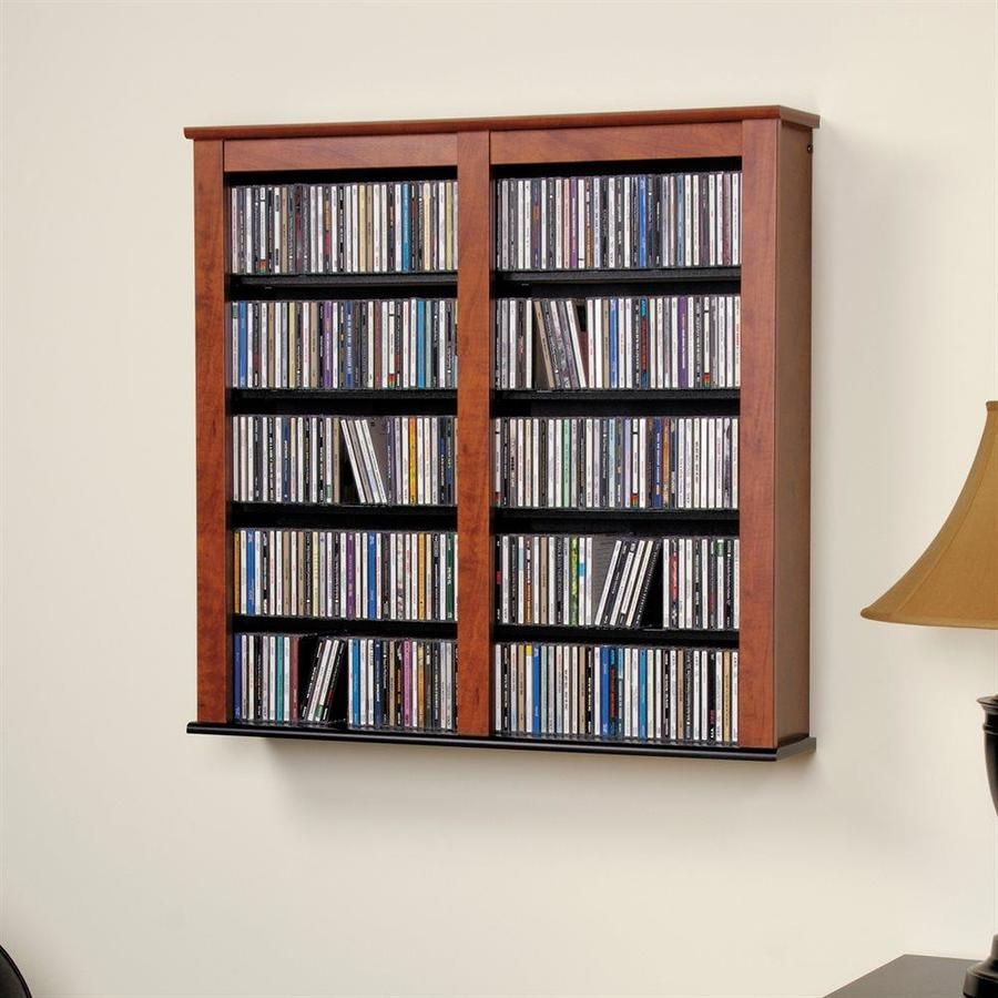 In Wall Media Cabinet Prepac Cherry Composite Wall Mount Media Cabinet At Lowes