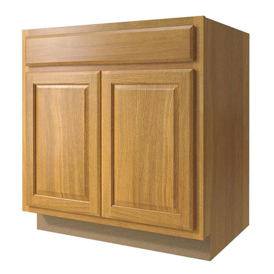 Lowes Wheat Kitchen Cabinets Diamond Now Portland 33-in W X 35-in H X 23.75-in D Wheat