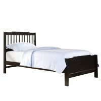 Shop Home Sonata Black Twin Bed Frame at Lowes.com