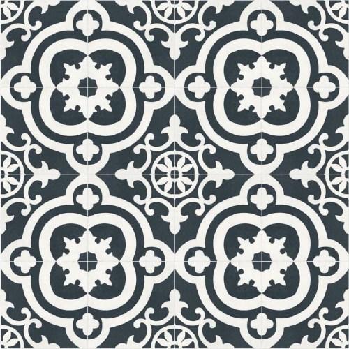 Medium Of Black And White Tile