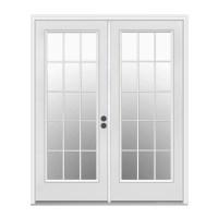 Shop ReliaBilt Left-Hand Inswing Steel French Patio Door ...