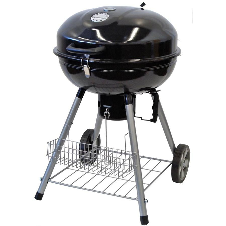 Weber Kettle Premium 57 Charcoal Grills At Lowes