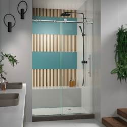 Small Crop Of Frameless Pivot Shower Door