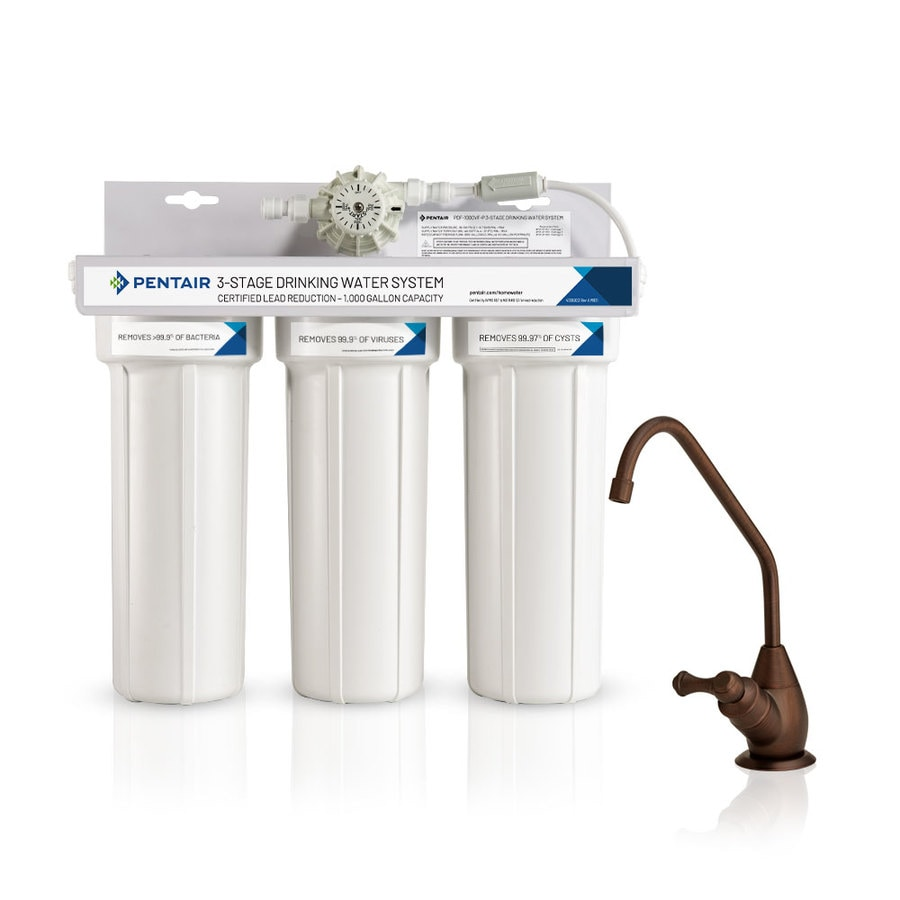 Carbon Water Filter System Pelican Water Water Purifier Triple Stage Carbon Block Under Sink