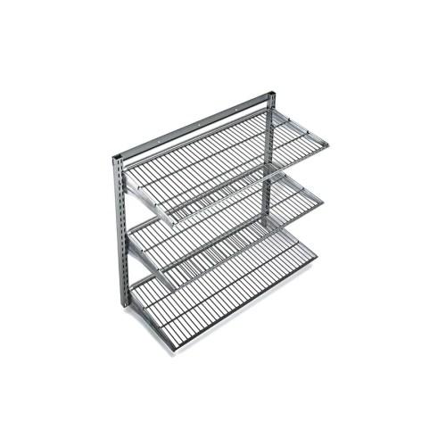 Medium Of Metal Wall Storage Shelves