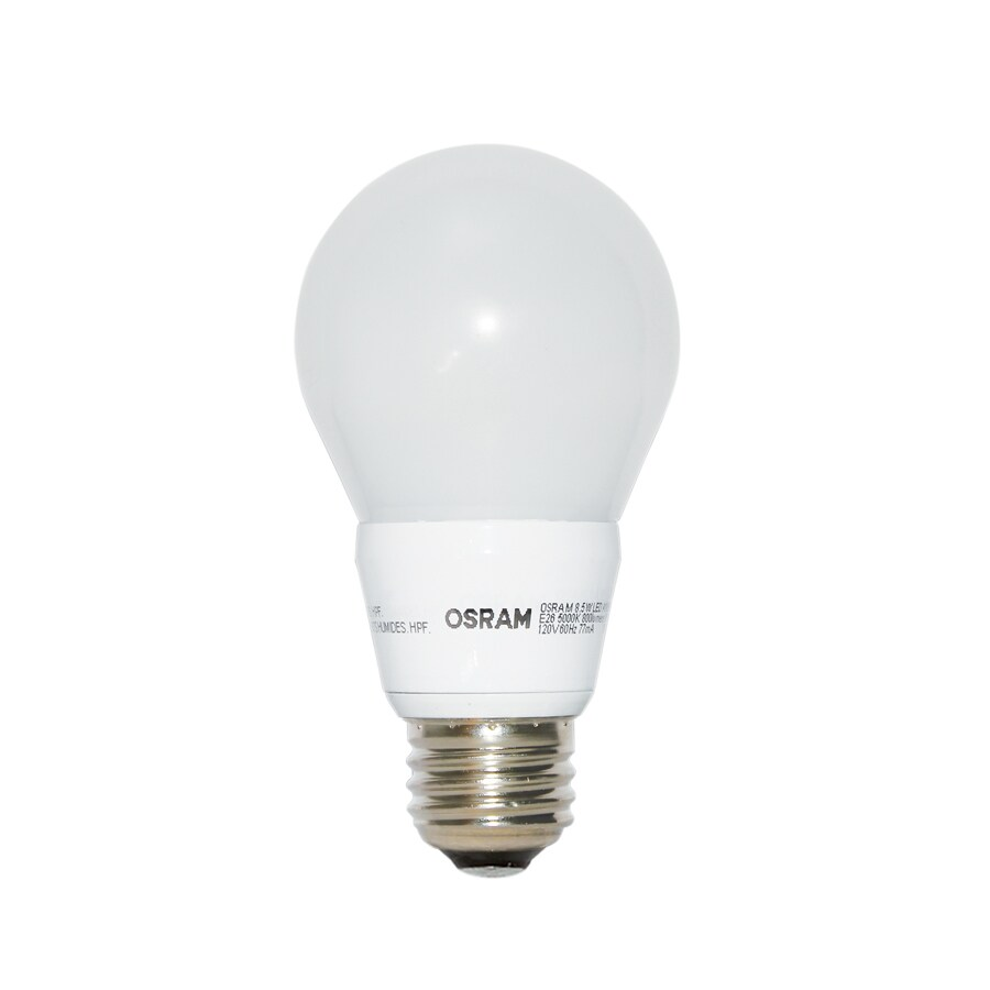 Ampoule Led Dimmable Osram 60w Equivalent Dimmable Soft White A19 Led Light Fixture