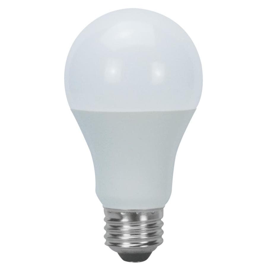 Does Lowes Recycle Light Bulbs Utilitech 6 Pack 60 W Equivalent Warm White A19 Led Light Fixture