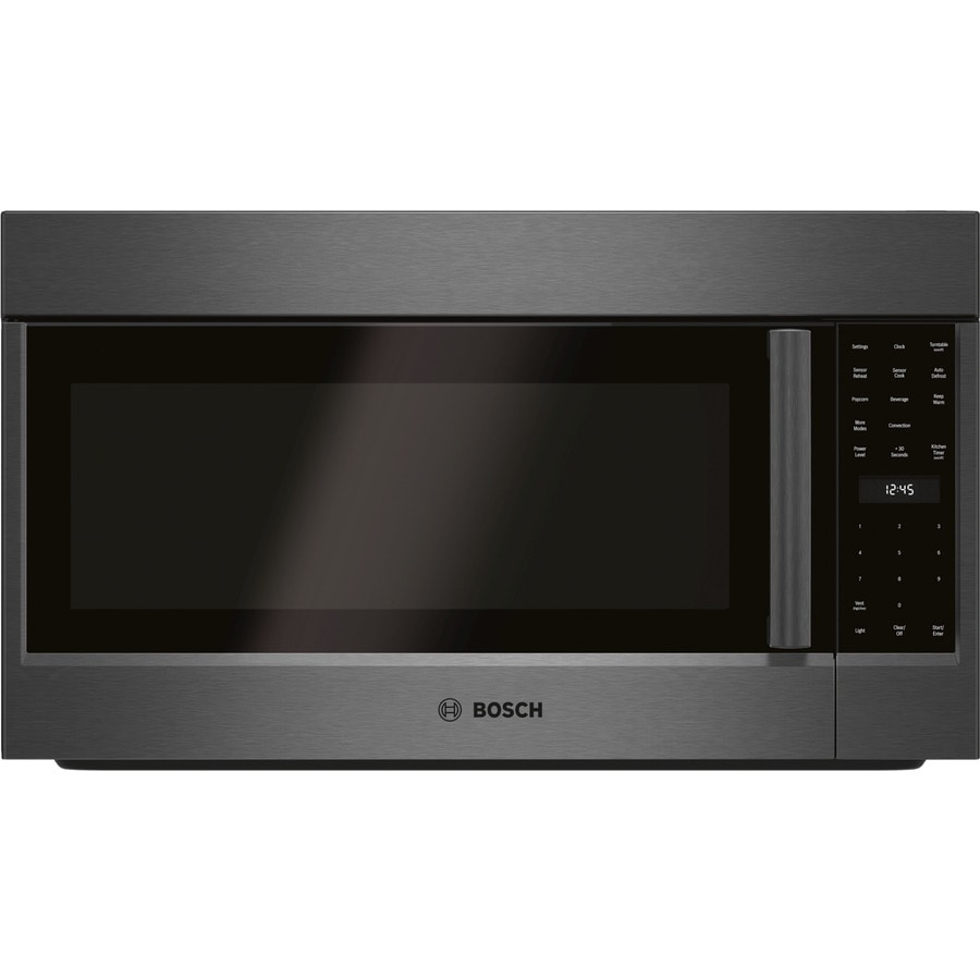 Bosch Microwave Bosch 800 Series 1 8 Cu Ft Over The Range Convection Microwave