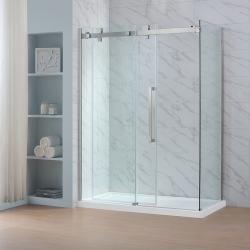 Small Crop Of Shower Glass Panel