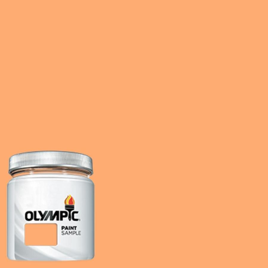 Orange Exterior Paint Olympic Orange Marmalade Interior Exterior Paint Sample Actual