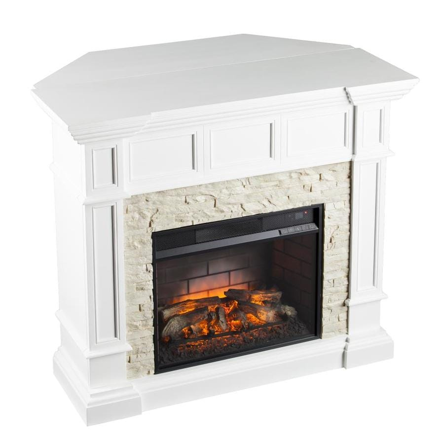 Electric Fireplace Built Into Wall Boston Loft Furnishings 45 75 In W 5000 Btu Mdf Corner Or Flat