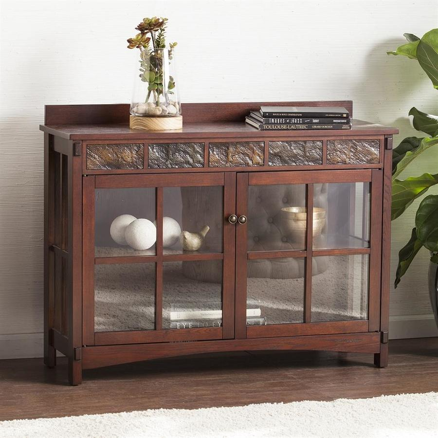 Sideboard Buffet Espresso Boston Loft Furnishings Conall Red Washed Espresso Sideboard At