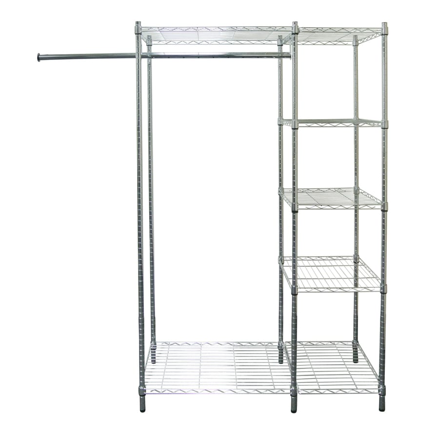 Shop Style Selections Chrome Plated Steel Garment Rack At