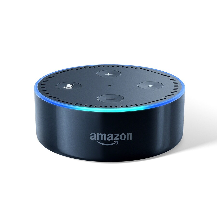 Echo Dot Installation Amazon Echo Dot Black At Lowes