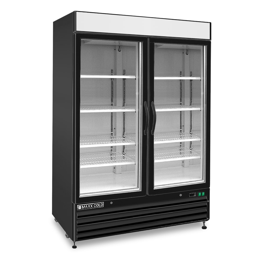 Black Freezer Maxx Cold 48 Cu Ft Frost Free Freestanding Commercial Upright