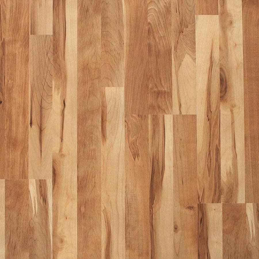 Laminat Roller Style Selections Natural Maple 8 07 In W X 3 97 Ft L Smooth