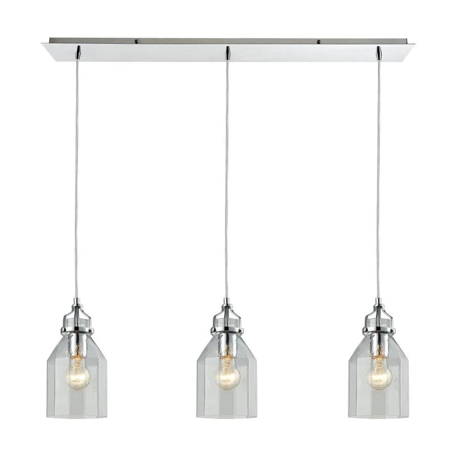 Pendant Track Lights Westmore Lighting Avoche 3 Light 36 In Polished Chrome Dimmable