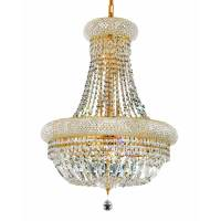Shop Luminous Lighting Primo 20-in 14-Light Gold Empire ...