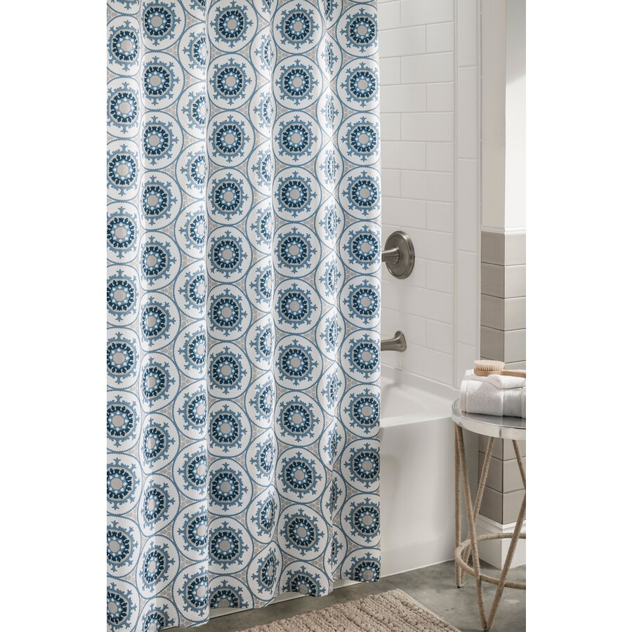 82 Shower Curtain Shower Curtains Liners At Lowes