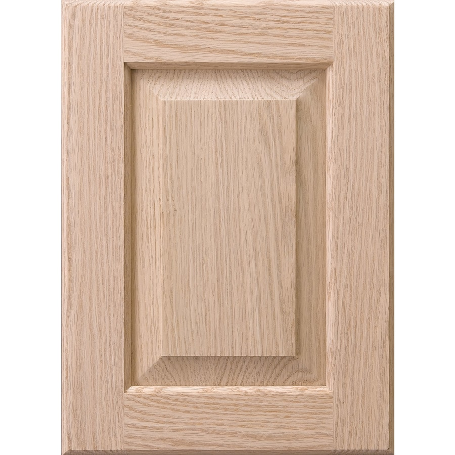 Wood Kitchen Cabinet Doors Surfaces Dalton 11 In X 15 In Unfinished Oak Raised Panel Cabinet