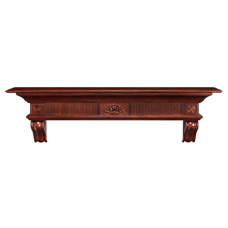 Cherry Fireplace Mantels Pearl Mantels Devonshire 60 In W X 16 75 In H X 10 In D Cherry