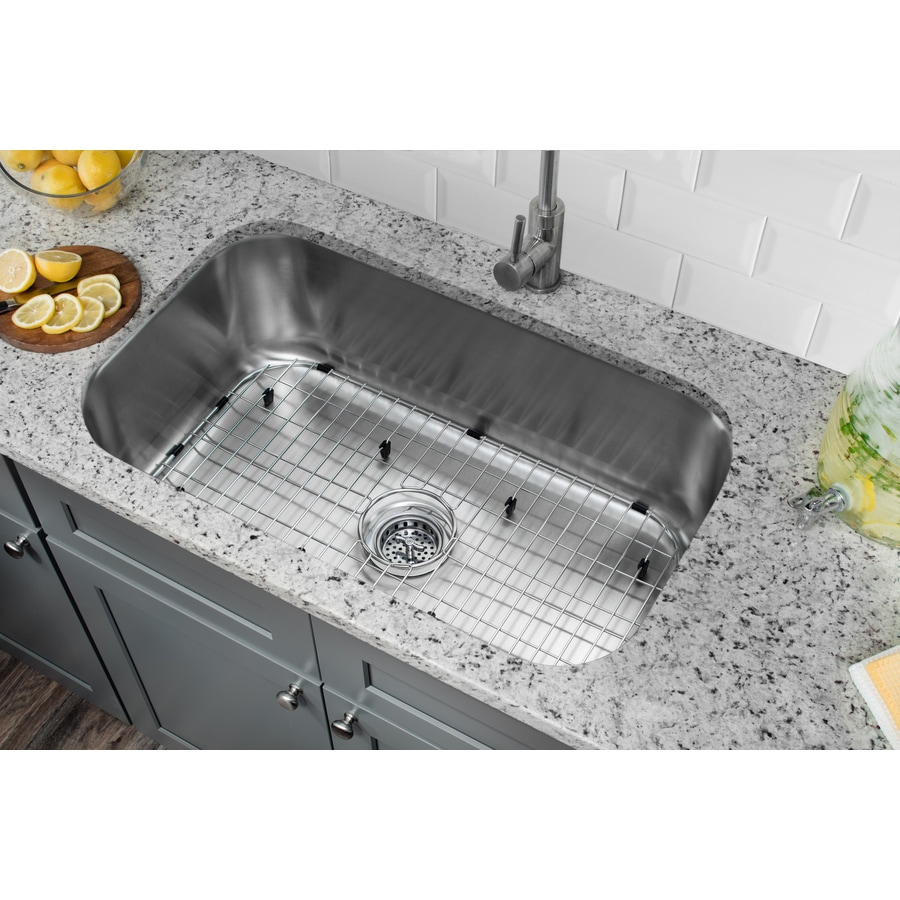 Kitchen Sink For 18 Cabinet Superior Sinks 30 In X 18 In Brushed Satin Single Basin Undermount