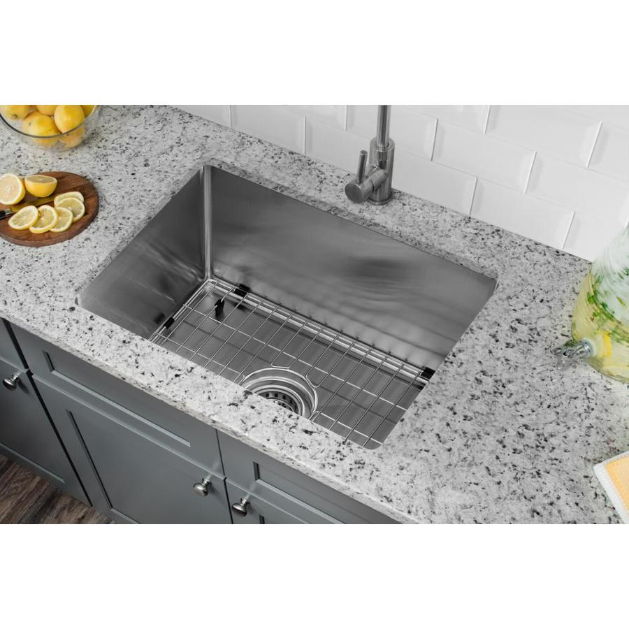 Shop Superior Sinks 20 In X 15 In Brushed Satin Single