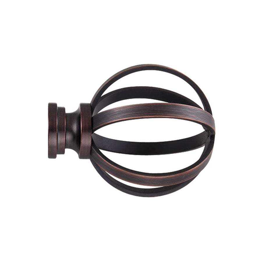 Cheap Finials For Curtain Rods Curtain Rod Finials At Lowes