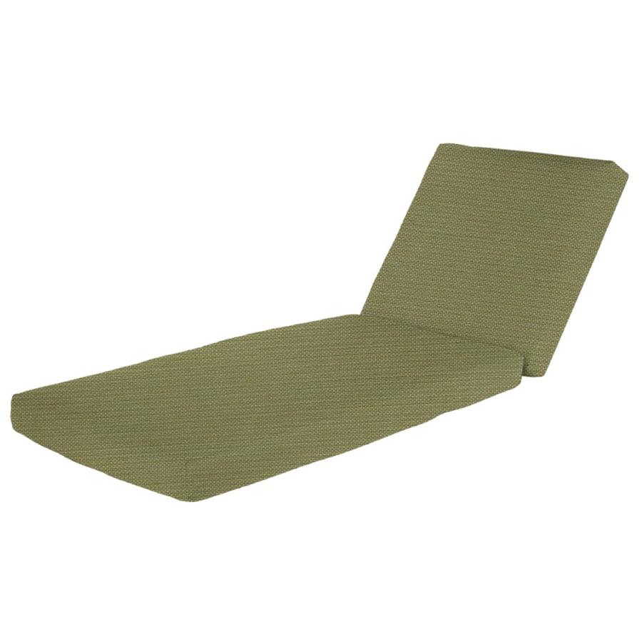 Shop Sunbrella Sunbrella Spectrum Kiwi Solid Cushion For