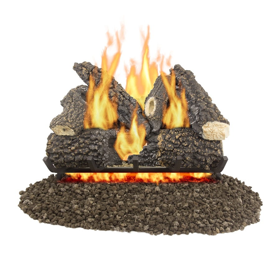 Btu Gas Fireplace Gas Fireplace Logs At Lowes