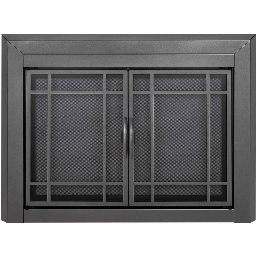 Glass Fireplace Doors Lowes Fireplace Doors At Lowes
