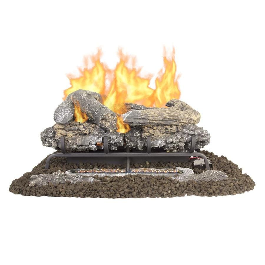 Ceramic Logs For Gas Fireplace Gas Fireplace Logs At Lowes